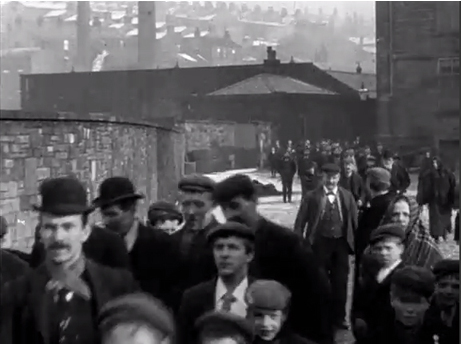 Workers Leaving Haslam's Ltd., Colne (1900)