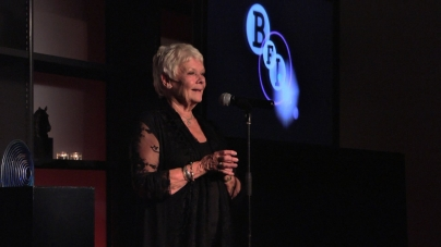 Dame Judi Dench receives the BFI Fellowship in 2011 - image