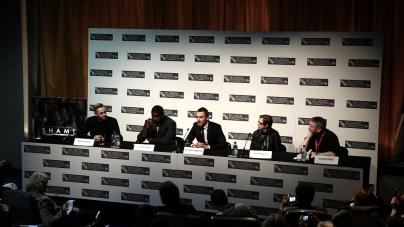 Shame Press Conference - image