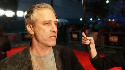 Rosewater red carpet highlights with Jon Stewart