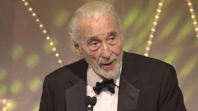 Awards night: BFI Fellowship for Christopher Lee - image