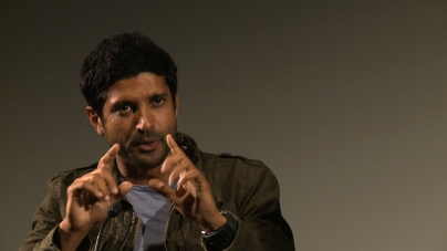 Farhan Akhtar at the London Indian Film Festival