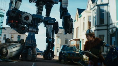 Sir Ben Kingsley and Jon Wright on Robot Overlords