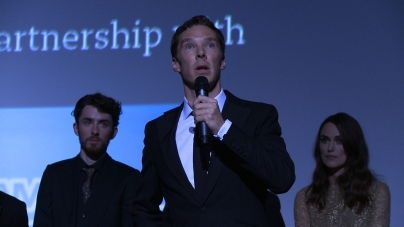 Benedict Cumberbatch introduces The Imitation Game