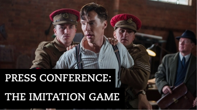 The Imitation Game press conference