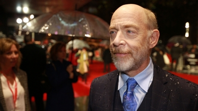 J.K. Simmons on the red carpet for Whiplash
