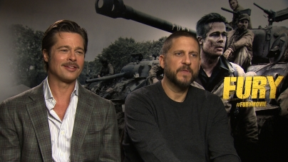 Brad Pitt and David Ayer on the making of Fury
