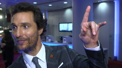 Matthew McConaughey on Interstellar and sci-fi