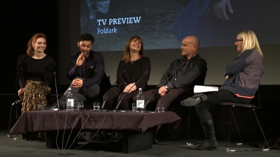 Poldark Q&A with Aidan Turner and Eleanor Tomlinson