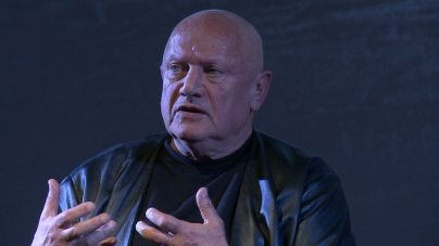 Steven Berkoff on The Hidden Fortress