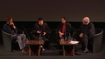 Jia Zhangke & Walter Salles screentalk