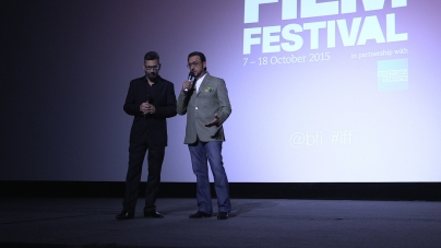 Beeba Boys introduced by actor Gulshan Grover