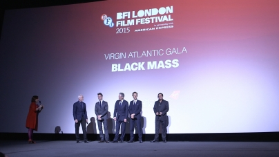 Black Mass introduction with Johnny Depp