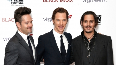 Black Mass red carpet with Johnny Depp