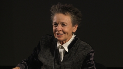 Laurie Anderson in conversation with Brian Eno
