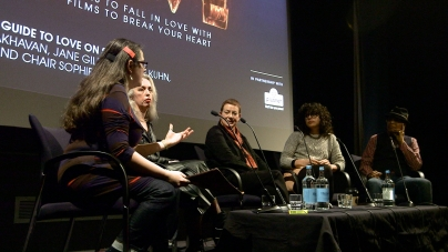The Feminist's Guide to Love on Screen panel