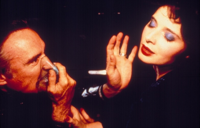 Dennis Hopper, Isabella Rossellini