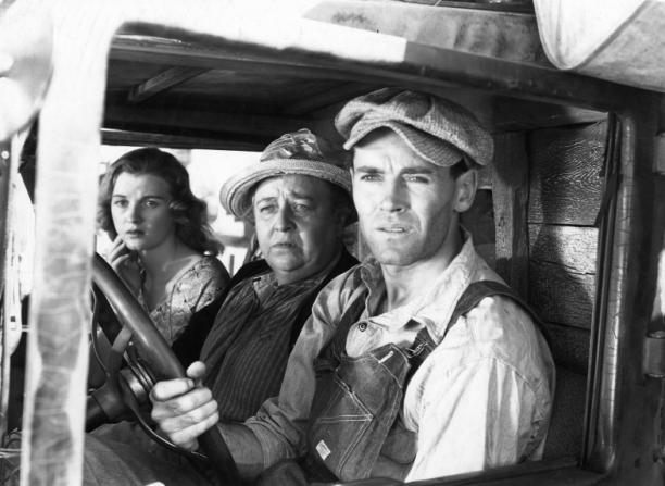 Jane Darwell, Dorris Bowdon, Henry Fonda