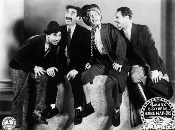 Chico Marx, Groucho Marx, Harpo Marx, Zeppo Marx