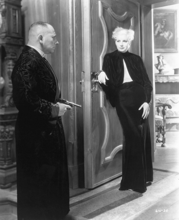 Erich von Stroheim, Greta Garbo