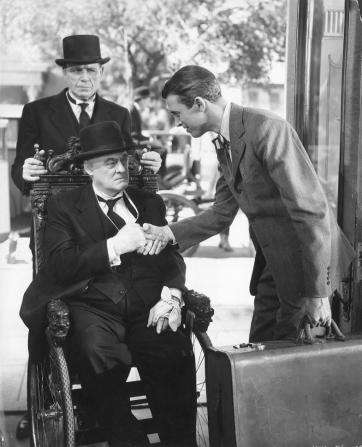 Lionel Barrymore, James Stewart
