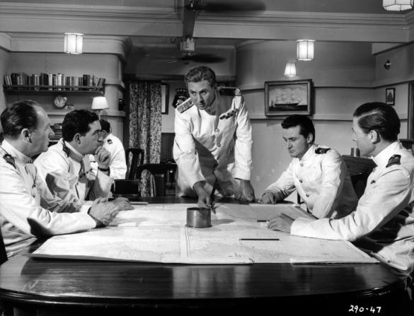 Anthony Quayle, Ian Hunter, John Gregson, Jack Gwillim