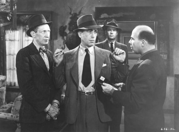 Tom Fadden, Humphrey Bogart, John Ridgely, Ben Welden