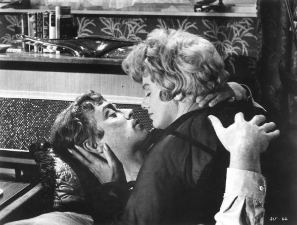 Michael Caine, Shelley Winters