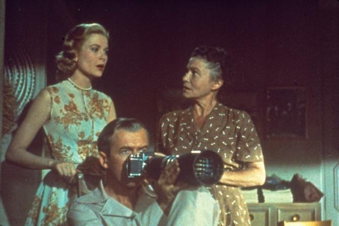 Grace Kelly, James Stewart, Thelma Ritter