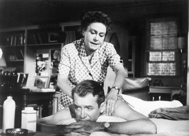 Thelma Ritter, James Stewart