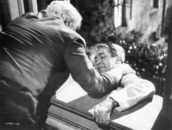 Raymond Burr, James Stewart