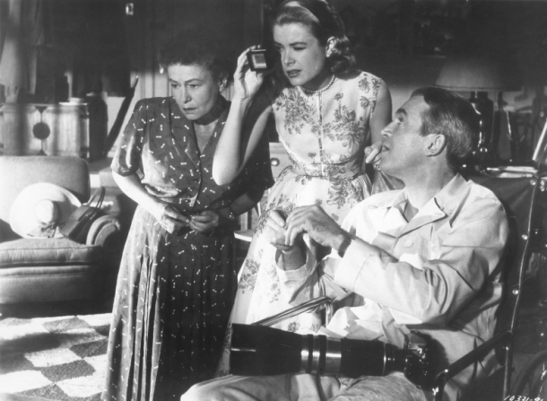 Thelma Ritter, Grace Kelly, James Stewart