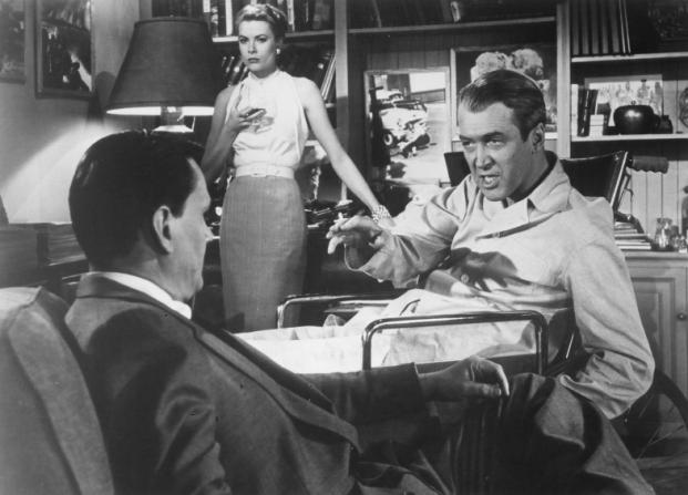 Wendell Corey, Grace Kelly, James Stewart