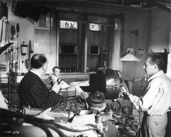 Alfred Hitchcock, James Stewart