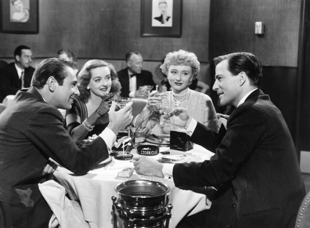 Bette Davis, Gary Merrill, Celeste Holm, Hugh Marlowe