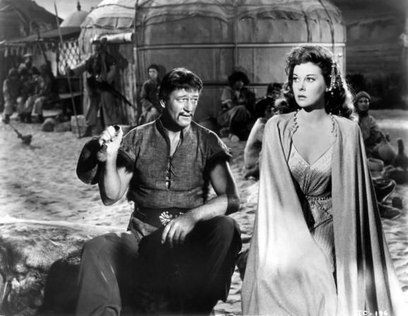 John Wayne, Susan Hayward