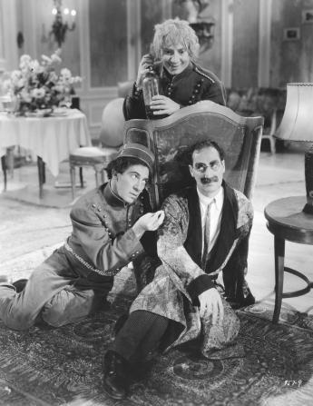 Chico Marx, Harpo Marx, Groucho Marx