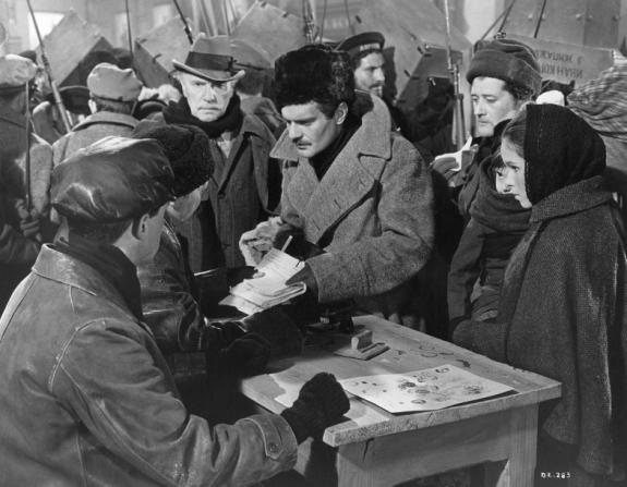 Omar Sharif, Geraldine Chaplin