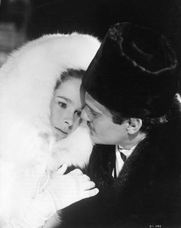 Geraldine Chaplin, Omar Sharif
