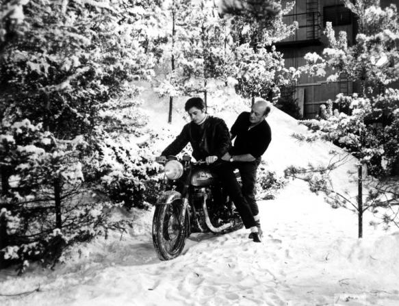 Alain Delon, Jack Cardiff