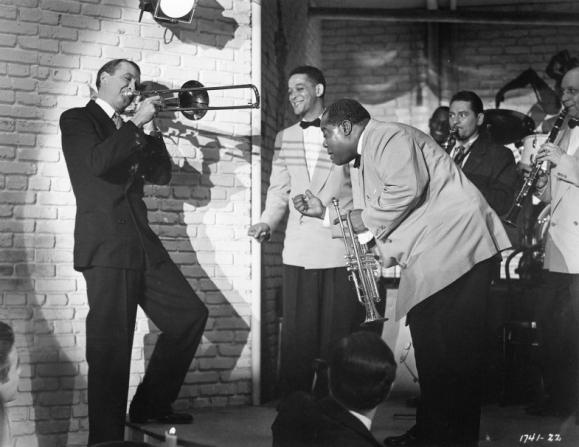 James Stewart, Louis Armstrong