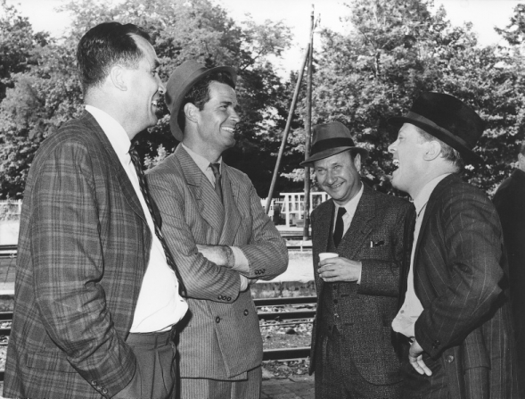 Richard Attenborough, James Garner, Donald Pleasence
