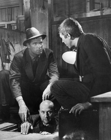 James Garner, Donald Pleasence, James Coburn