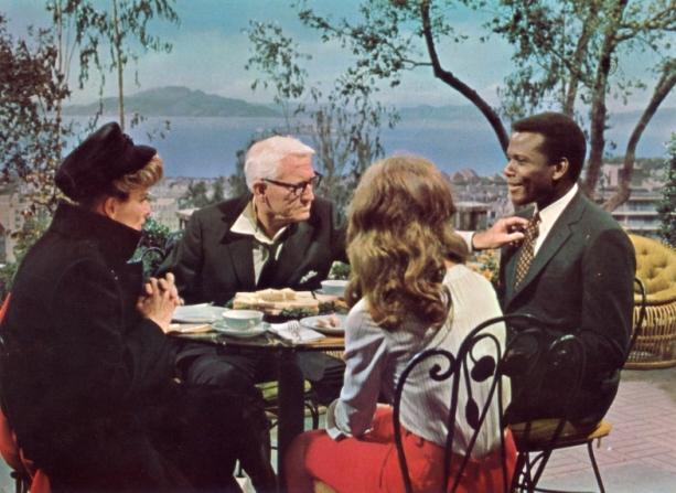 Sidney Poitier, Katharine Hepburn, Spencer Tracy