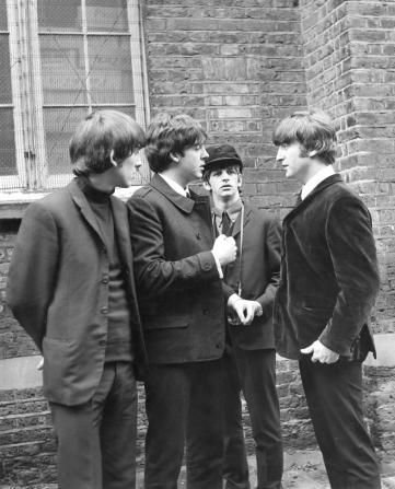 Ringo Starr, George Harrison, Paul McCartney, John Lennon