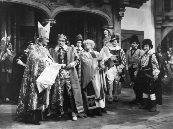 Felix Aylmer, Laurence Olivier, Robert Helpmann