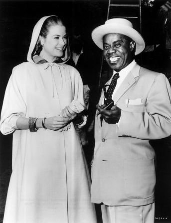 Grace Kelly, Louis Armstrong