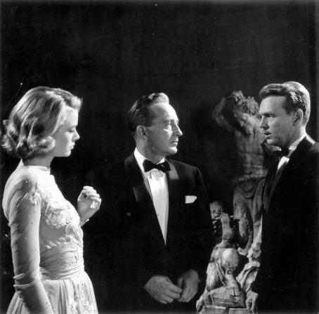 Grace Kelly, Bing Crosby, John Lund