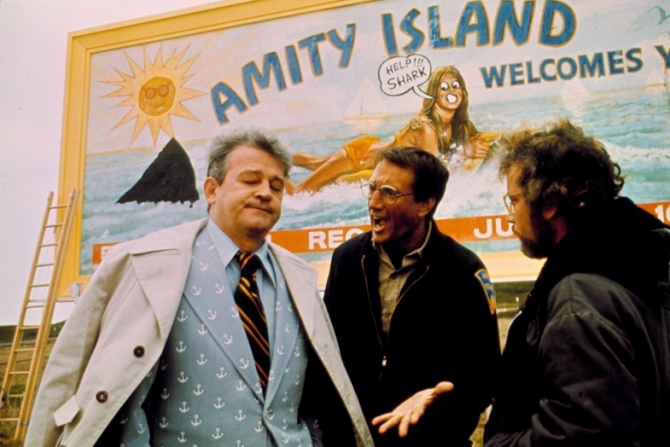 Murray Hamilton, Roy Scheider, Richard Dreyfuss