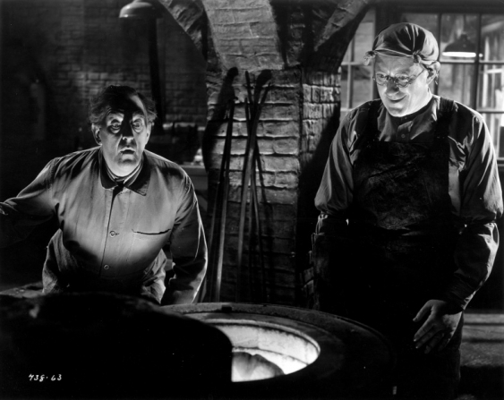Stanley Holloway, Alec Guinness